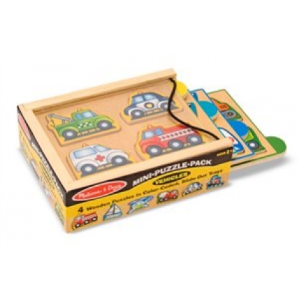 Minipuzzle Vehicule Melissa and Doug MD 4791