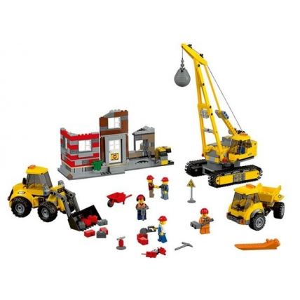 Santier de demolati LEGO CITY 60076