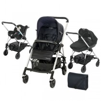Streety Trio Bebe Confort - Total Black