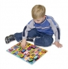 Puzzle lemn in relief Litere Melissa and Doug MD 3833